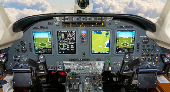 Mid-Canada Mod Center Completes Citation VII Flight Deck and Broadband Mods
