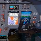 Mid-Canada Mod Center Modernizes Falcon 50 Aircraft Flight Deck with Universal Avionics InSight Display System